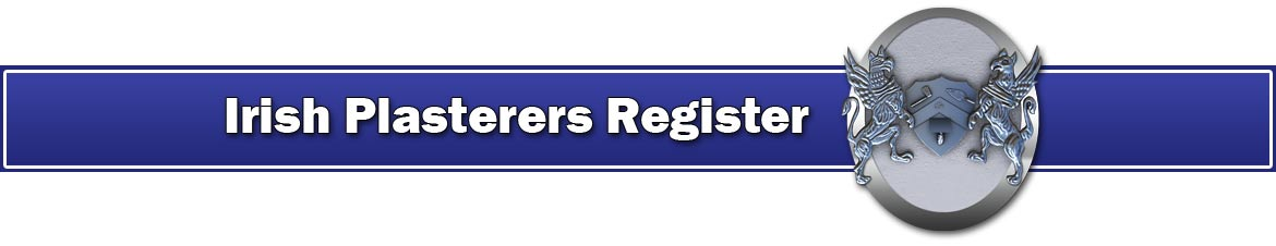 Irish Plasterers Register